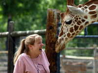 The Lady and The Giraffe